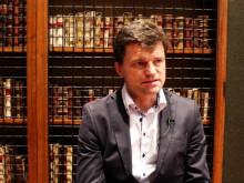 Dr. Rupert Koller of Austria talks to Novus Scientific