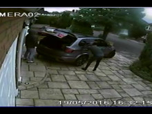 CCTV footage of Enfield burglary