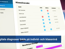 Pejlo - digitala diagnoser i svenska och matematik