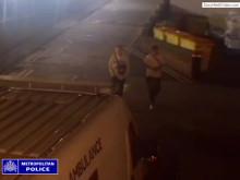 CCTV footage taken from St Helier Hospital