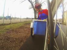 Alla superhjältar cyklar