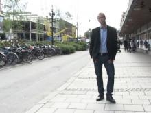 Mattias Lundberg presenterar Samverkan vid Institutionen för psykologi, Umeå universitet
