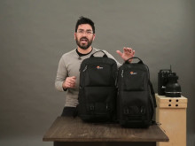 Lowepro Fastpack II, video