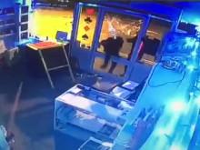 CCTV footage of the second burglary