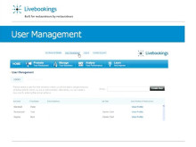 Livebookings - Out with the old in with the new