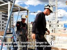 Säkrare byggen för utländska byggnadsarbetare