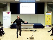 Julian Stubbs Branding Seminar Amsterdam 2013