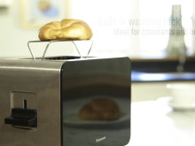 The old familiar rectangle with a brand new design - meet the Panasonic DP1-BXC toaster