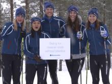 Bluewater team ski's 90k Vasaloppet marathon to promote fight against plastic in the planet's oceans