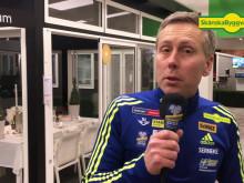 Håkan Blidberg om Skånska Byggvarors sponsring av skidskyttelandslaget
