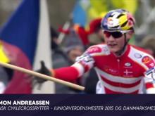Simon Andreassen glæder sig til dansk VM