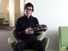Anders Uhlin från Innventia med fossilfri bil