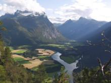 Vandring vid Romsdalseggen