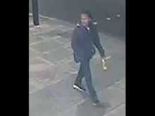 CCTV of the incident in Streatham