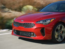Kia Stinger B-roll