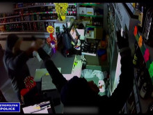 CCTV footage of burglary at Bromley shop
