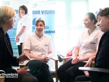 NHS nursing course launch