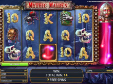 Mythic Maiden videohedelmäpeli Vera&John online kasinossa