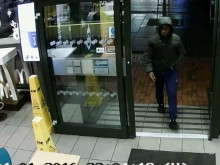 CCTV of incident in McDonalds, Romford