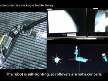 Small Robot Developed to Investigate Interior of Primary Containment Vessel of Fukushima Daiichi Nuclear Power Station Unit 2