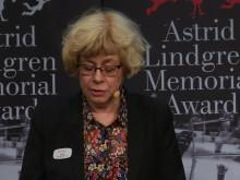 Tillkännagivandet av Litteraturpriset till Astrid Lindgrens Minne 4 april 2017