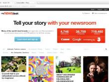 A look at the new Mynewsdesk homepage