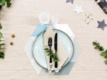 Photowall  - Christmas Table Setting