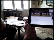 """Kerstin, 82 år testar internet för första gången: """"Vansinnigt!"""" #MynewsdeskNow"""