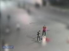 CCTV of two suspects - Trafalgar Square assault