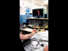 Controlling an arm on a computer screen