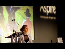 Sophie Carrigill, Speaker at the Manchester Sports Quiz Dinner 2012
