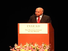 President Achal Agarwal's Key Note Address at the INSEAD E-MBA Graduation Ceremony