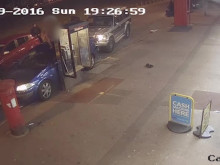CCTV footage of incident re violent disorder