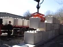 "C3C monterar ""vuxenlego"" i betong"