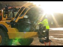 Film: Volvo A45G dumper - tillgänglighet