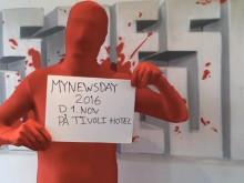 #Mynewsman har noget, han gerne vil dele med dig...