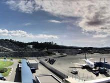 Forberedelser og bygging av ny flyterminal