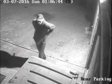 CCTV of man police are seeking to identify