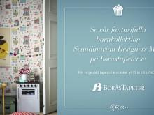 """Tapeten """"Krakel Spektakel"""" från kollektionen Scandinavian designers mini"""