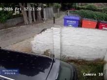 CCTV of robbery in Croydon