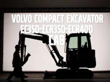 Film om förarmiljön i Volvo ECR35D, EC35D och ECR40D minigrävare