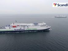 """Scandlines' nye hybridfærger """"Copenhagen"""" og """"Berlin"""" på ruten Gedser-Rostock"""