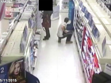 CCTV of the incident in Tandem Way, Colliers Wood