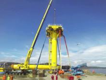 West of Duddon Sands offshore wind farm met mast