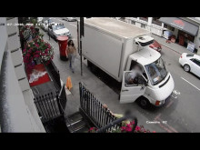 CCTV of robbery, W1