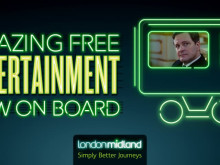 London Midland's new free on-train entertainment service