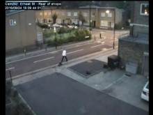 CCTV footage - Attempted murder in Tower Hamlets