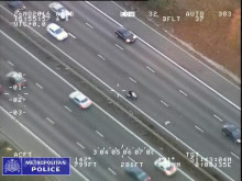 Air Support Unit footage of pursuit of suspects