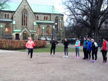 Höga knän i Göteborg