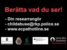 """""""Titta inte bort"""" – film i kampen mot sexuella brott mot barn"""